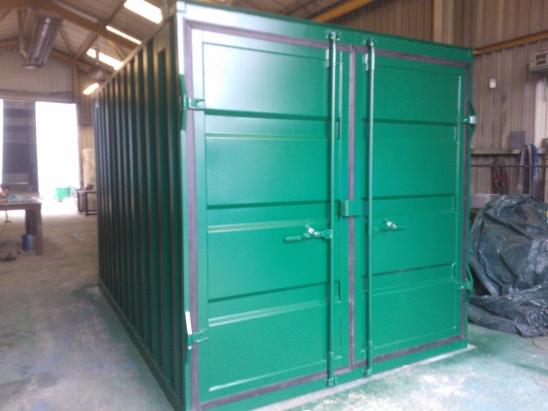 Pump House Fabricated Container Case Study