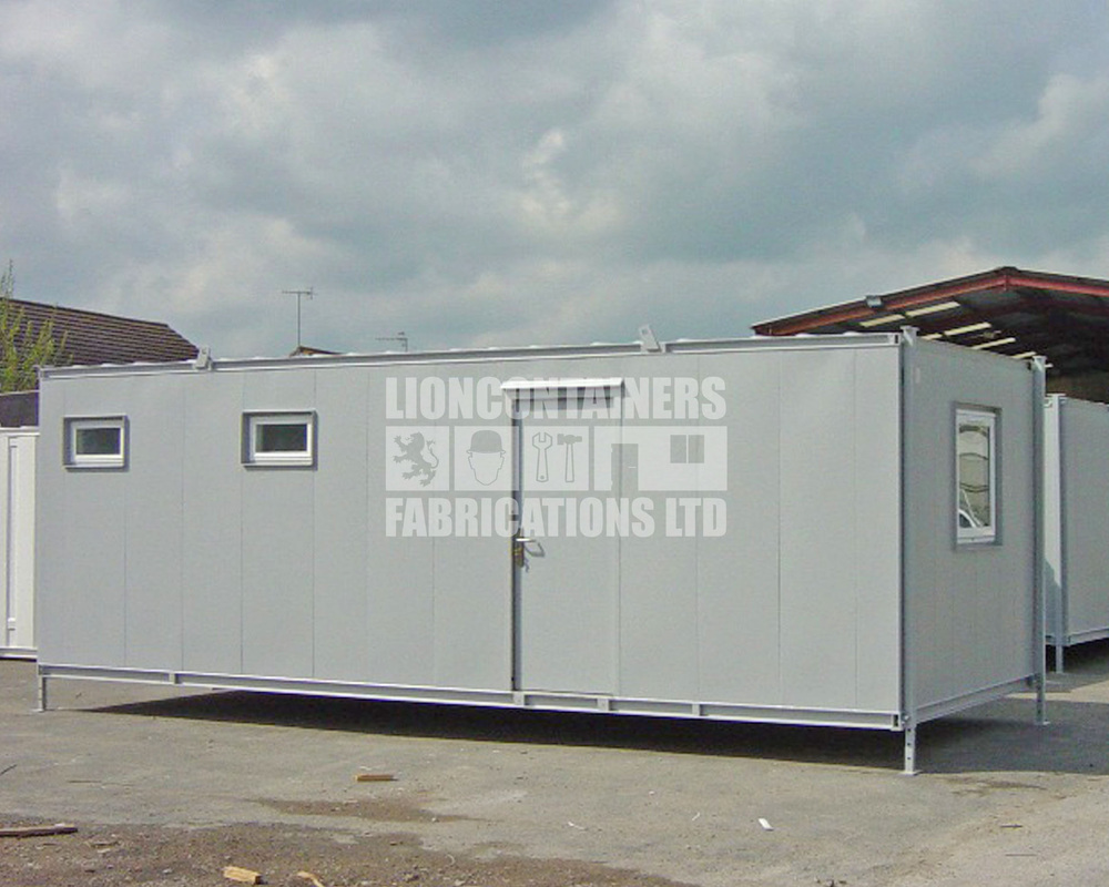 24ft Site Canteen and Office Container Conversion