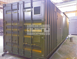 30ft Biomass Fuel Store Container