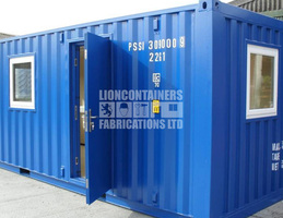 Bespoke Container Conversions and Modifications