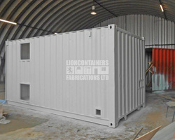 Pump Enclosure Container Conversions